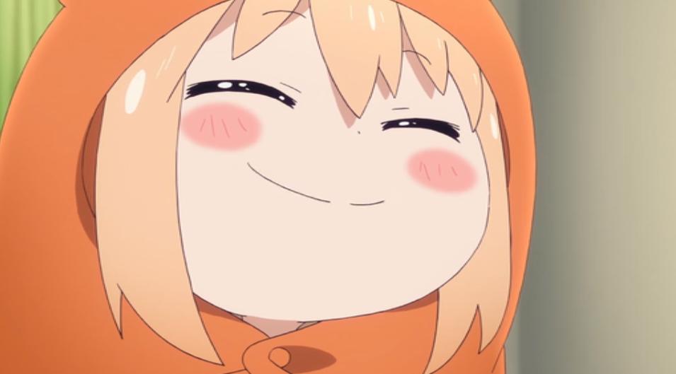 干物妹_うまるちゃん_うまる_笑顔